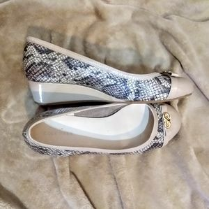 Cole Haan Snakeskin Wedge